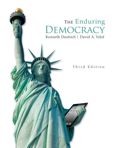 The Enduring Democracy (With Aplia Printed Access Card) (American And Texas Government)