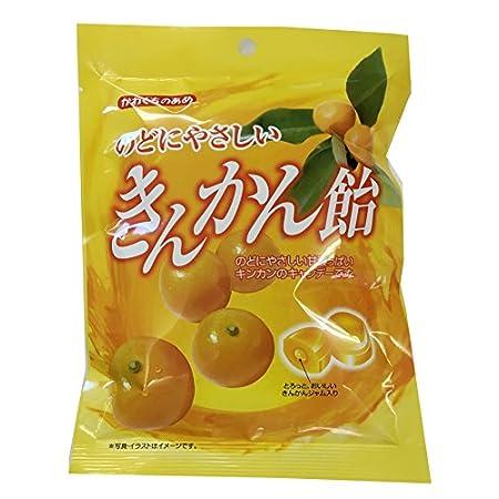 川口製菓 のどにやさしいきんかん飴 100g×10袋