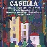 カゼッラ:ピアノと管弦楽のための作品集 (Music for Piano & Orchestra)