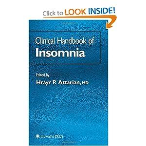Clinical Handbook of Insomnia  by Hrayr P. Attarian