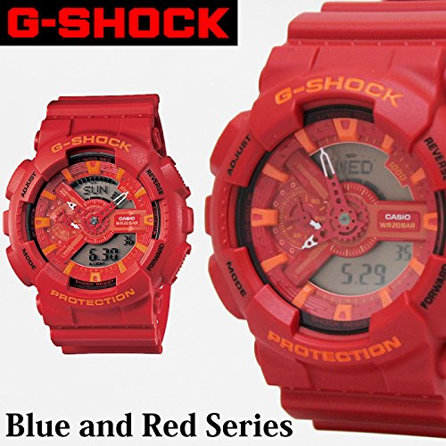 G-SHOCK ジーショック 腕時計 GA-110AC-4AJF レッド アナログ時計 デジタル時計 CASIO カシオ メンズ 【火曜日発送不可】