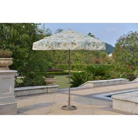Mainstays Willow Springs 7' Garden Umbrella, Cream