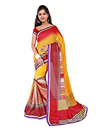 Sailaxmi Fashion Women's Floral Silk Saree(SLFS007_Multi-Coloured)