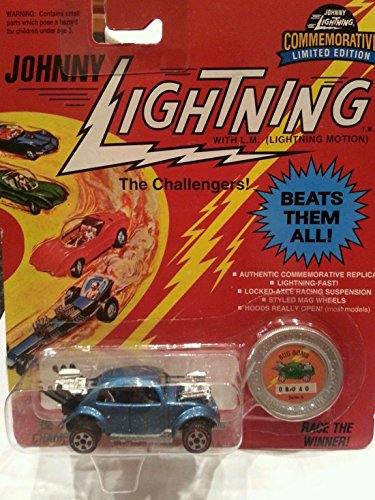 Johnny Lightning - The Challengers Series - BUG BOMB - Blue Color