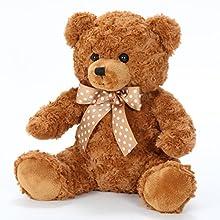 不二貿易 ぬいぐるみ 熊 くま ベア 全長 30cm ブラウン