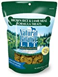 Natural Balance Limited Ingredient Treats Brown Rice and Lamb Meal Formula for Dogs, 14-Ounce Bag