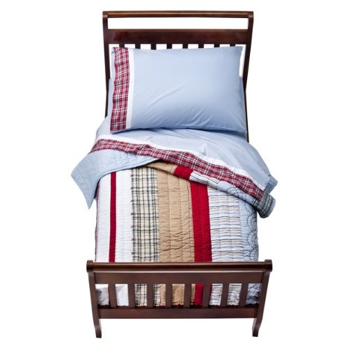 Boys Plaid Bedding 3848 front
