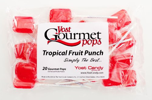 Yost Gourmet Pops, 20 Count Bag - Tropical Fruit Punch front-1031564