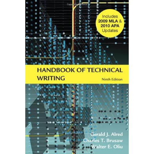 Handbook of Technical Writing, 9th Edition