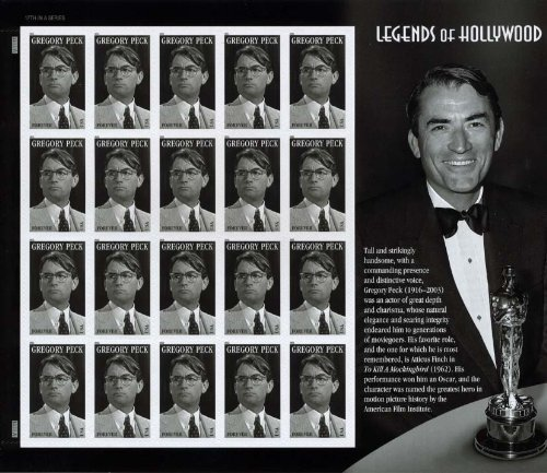 gregory-peck-sheet-of-20-x-forever-us-postage-stamps-by-usps