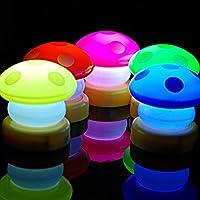 Viskey 7 Color Romantic Mushroom Christmas LED Night Light by Viskey