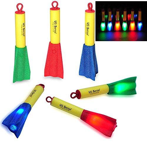 led-finger-rockets-foam-rocket-slingshot-toys-6-supplied-party-christmas-gift-for-kids-brand-us-sens
