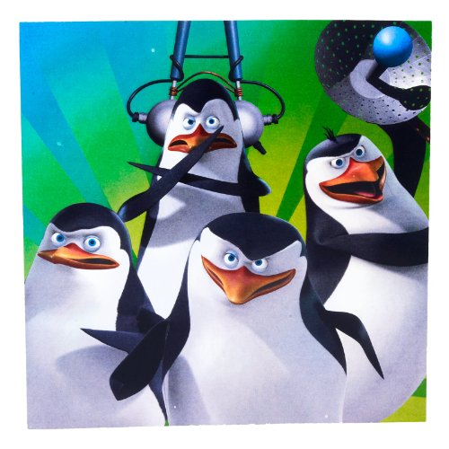 Penguins of Madagascar Lunch Napkins Party Accessory