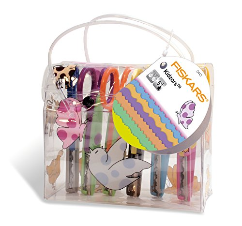 fiskars-forbici-decorative-per-bambini-set-da-6-multicolore