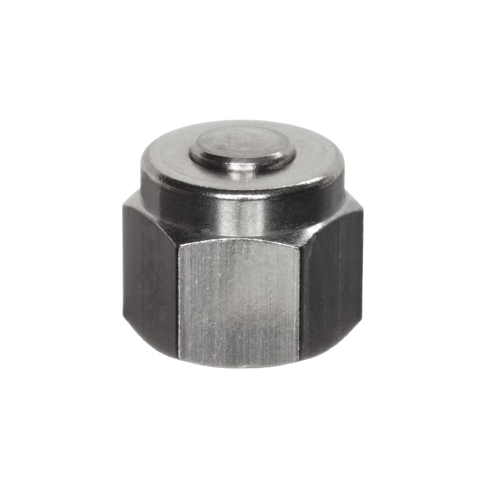 Parker A Lok 6BLP6 316 316 Stainless Steel Compression Tube Fitting, Cap, 3/8 Tube OD