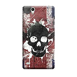 Digi Fashion Designer Back Cover with direct 3D sublimation printing for Sony Xperia C4