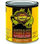 Cabot Australian Timber Oil Exterior Oil Finish-H TEAK TIMBER OIL FINISH