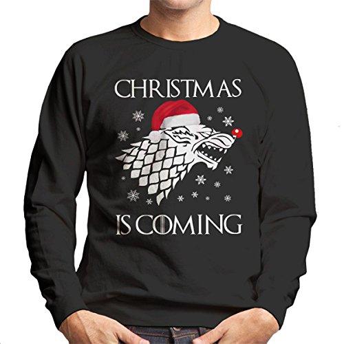 christmas-is-coming-stark-direwolf-sigil-game-of-thrones-mens-sweatshirt