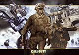 3D 'Call of Duty: Modern Warfare 2 Poster with Accessory