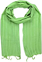 Sahiba Creation trendy and colourful women stole for all time wear(light green)