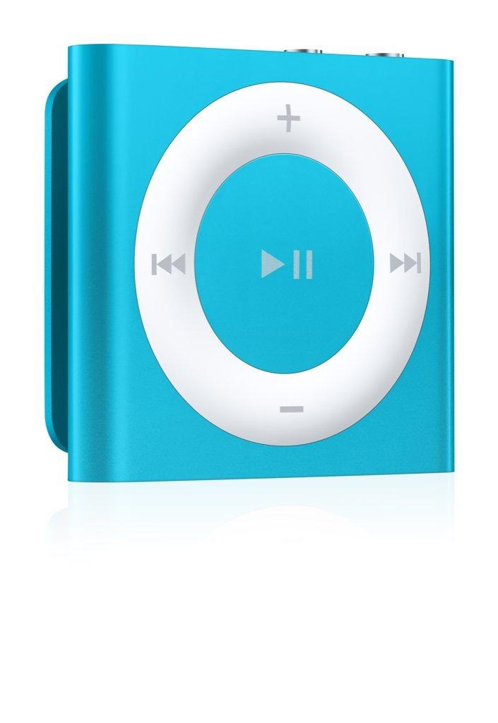 Baladeur MP3 APPLE IPOD SHUFFLE4EG BLEU 2GO