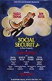 Social Security Poster Broadway 11 x 17 In - 28cm x 44cm Ron Silver Marlo Thomas Olympia Dukakis Joanna Gleason Stefan Schnabel