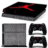MATTAY Jordan 3 Whole Body Vinyl Skin Sticker Decal Cover for PS4 Playstation 4 System Console and Controllers by MATTAY