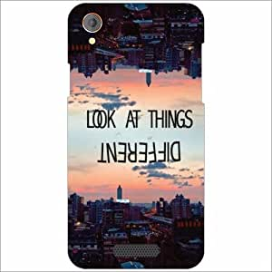 Lava Iris X1 Atom Back Cover - Silicon Look At Things Designer Cases