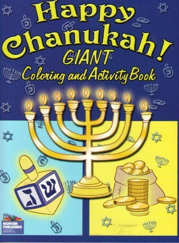 Chanukah Coloring and Activity Book -Happy Hanukkah - 1