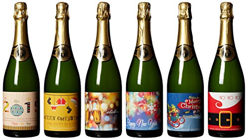 Wilson Creek Whimsical Holidays Almond Sparkling Wine Mixed Pack, 6 Bottles X 750 Ml