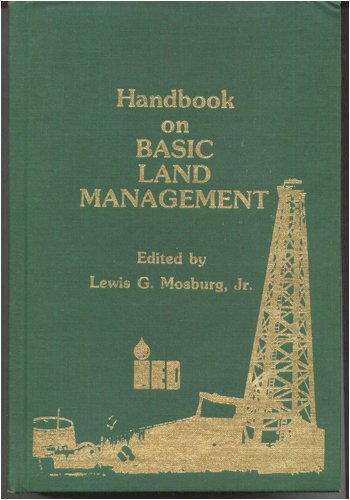 Handbook on Basic Land Management