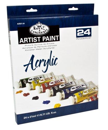Royal   Langnickel - Confezione da 18 colori acrilici da 21 ml