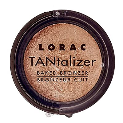LORAC Travel Size Tantalizer Baked Bronzer, Original, 0.06 oz.