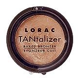 LORAC Travel Size Tantalizer Baked Bronzer, Original, 0.06 oz.