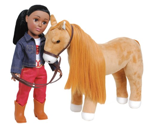 Madame Alexander Red Jeans Doll With Horse front-281137