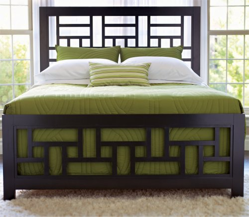 Broyhill Perspectives Bedroom Cal King Lattice Bed - 4444-252-253-455