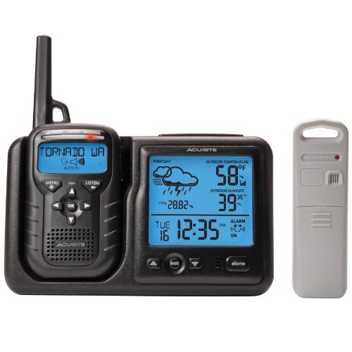 AcuRite 08580 Weather Station Plus Portable Weather Alert Radio