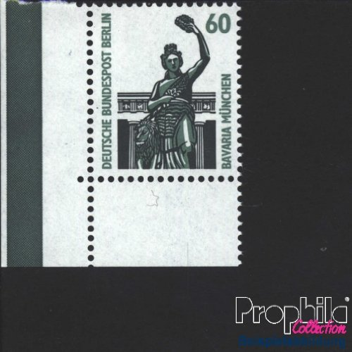 Berlin (West) 795A Eckrandstück postfrisch 1987 Sehenswürdigkeiten (Briefmarken für Sammler)