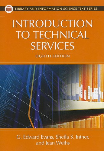 Introduction to Technical Services (Library and...
