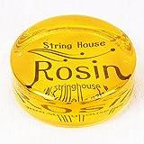 (ストリング ハウス) String House SR1080松脂/ロジン トランスペアレントロジン イエロー バイオリン/ビオラ/チェロ/二胡など用 弓に適応