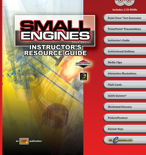 Small Engines - Instructor's Resource Guide - Amer Technical Pub - AT-0029 - ISBN:0826900291