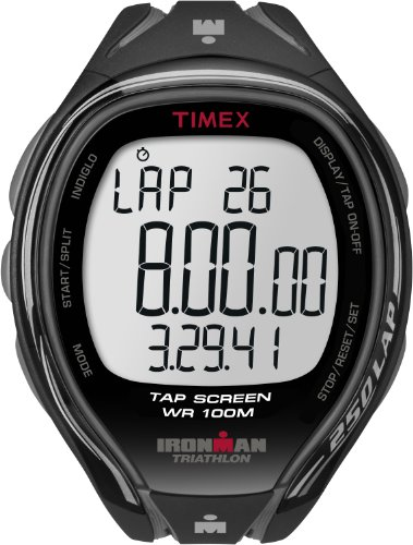Timex Men?s T5K588 Ironman Sleek 250-Lap TapScreen