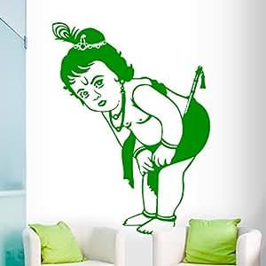 DeStudio Krishna Flip Chalkboard Wall Decal, Size MEDIUM & Color : GREEN