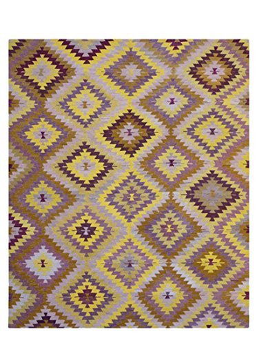 nuLOOM Seiro Hand-Knotted One-of-a-Kind Rug, Multi, 8' 5