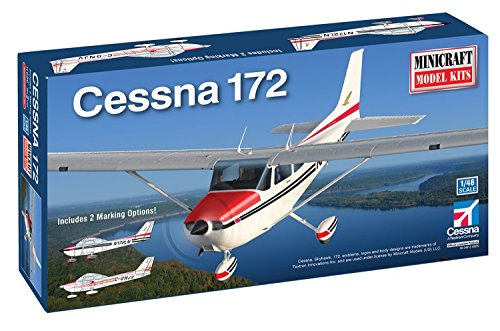 Minicraft Cessna 172 Tri-Gear Model Kit (Cessna 172 Model compare prices)