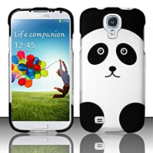 VMG Image Design Cell Phone Hard Case Cover For Samsung Galaxy S4 4th Gen - Panda Bear Face Design Hard 2-Pc Plastic Snap On Case [by VANMOBILEGEAR] *** ACCESSORY ONLY ***