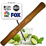 Muddler SALE! Mojito Cocktail Drink Muddlers - 11 Inch; Best Bar Tool; Bamboo Wont Shred or Taint Like Cheap Wood, Steel or Plastic Muddlers.