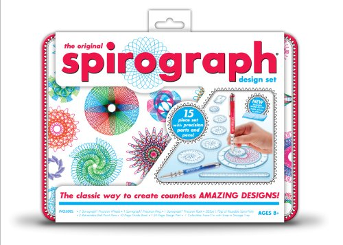 Spirograph Design Tin Set front-12144