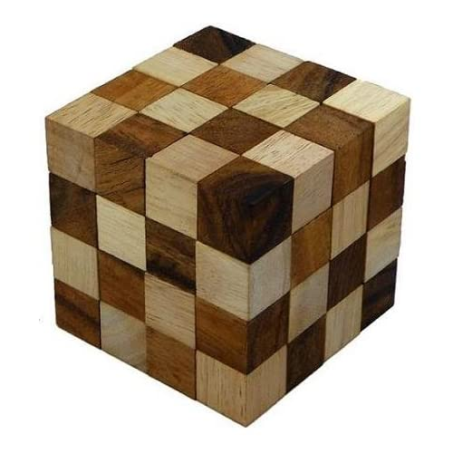 cube wooden puzzle solutions