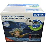 Intex Krystal Clear Saltwater System (Discontinued by Manufacturer)